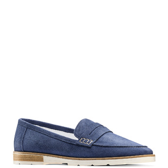 Women's shoes bata-touch-me, Bleu, 513-9181 - 13