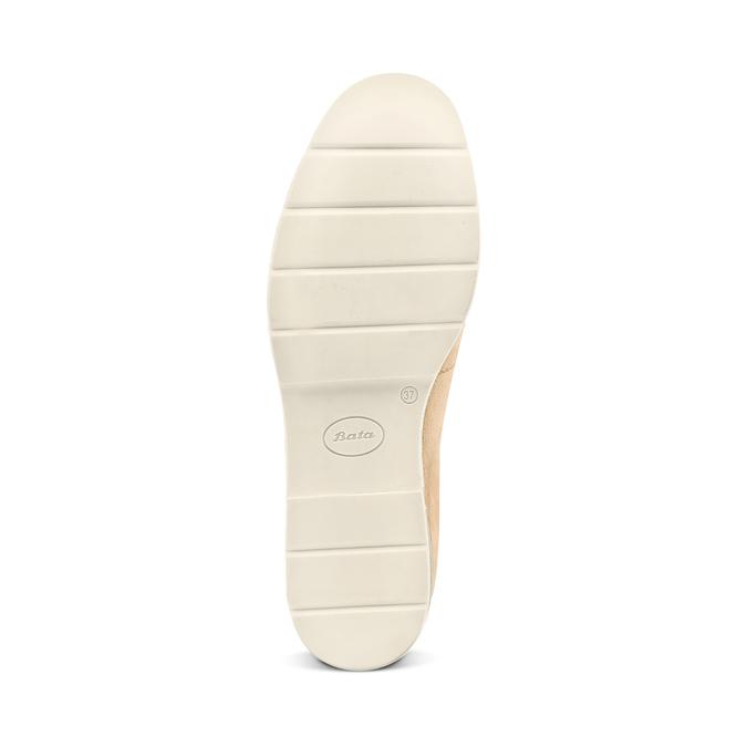 Women's shoes bata-touch-me, Jaune, 513-8181 - 19