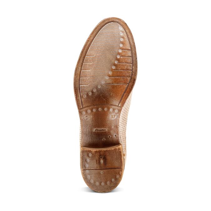 Women's shoes bata, Jaune, 693-8230 - 19