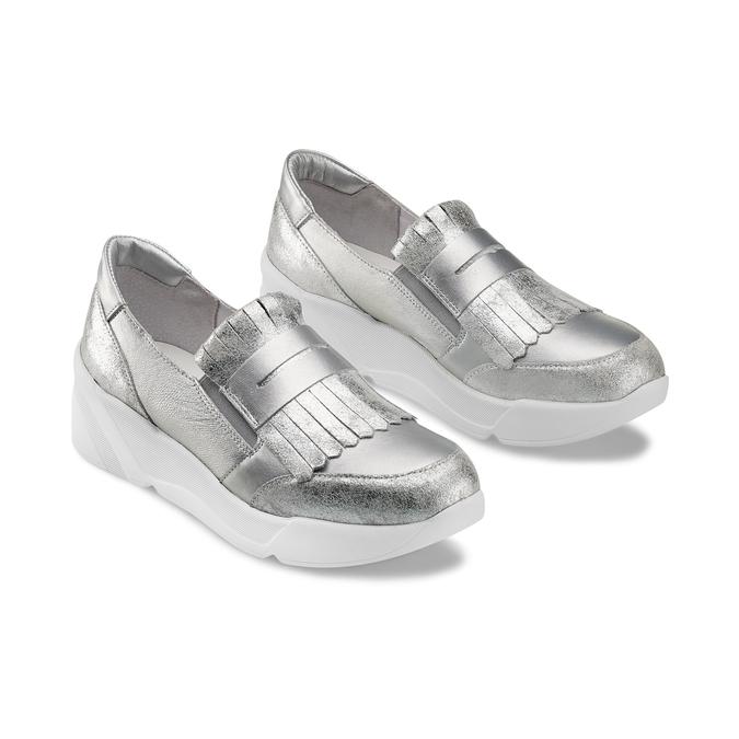 Women's shoes bata, Blanc, 614-1131 - 16
