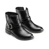 Chaussures motard pour femme bata, Noir, 591-6368 - 16
