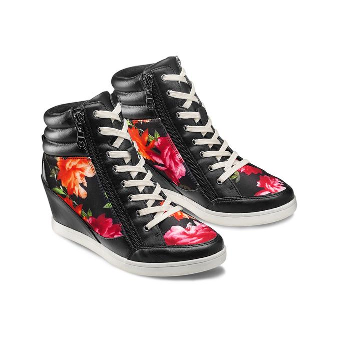 Women's shoes bata, Noir, 729-6193 - 16
