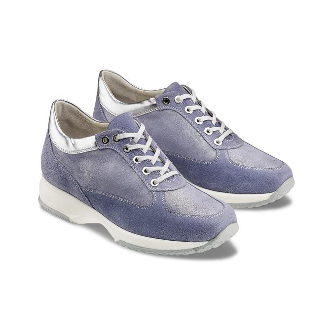 Women's shoes bata, Bleu, 523-9306 - 16