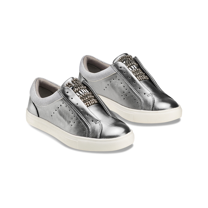 Childrens shoes mini-b, Gris, 321-2357 - 16