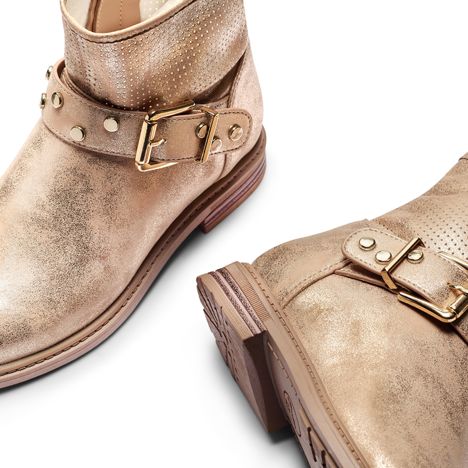 Childrens shoes mini-b, Jaune, 391-8115 - 19