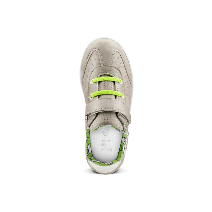 Childrens shoes mini-b, Gris, 211-2191 - 15