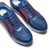Men's shoes bata, Bleu, 844-9142 - 26