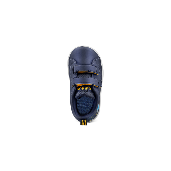 Childrens shoes adidas, Bleu, 101-9129 - 17