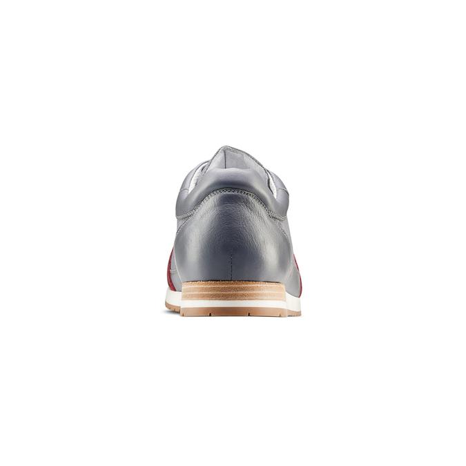Men's shoes bata, Gris, 844-2142 - 15