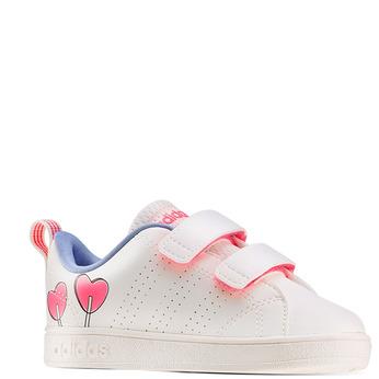 Childrens shoes adidas, Blanc, 101-1129 - 13