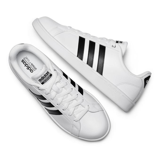 Men's shoes adidas, Blanc, 801-1378 - 26
