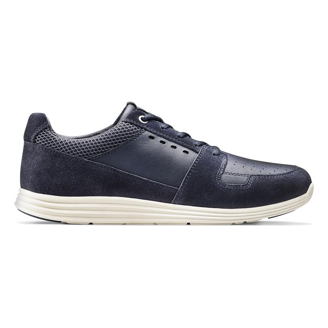 Men's shoes bata-light, Bleu, 844-9161 - 26