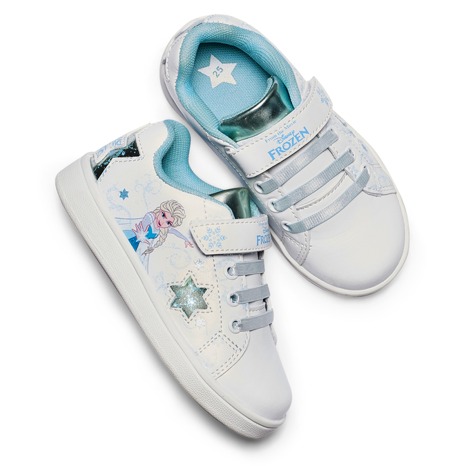Childrens shoes, Blanc, 221-1221 - 26