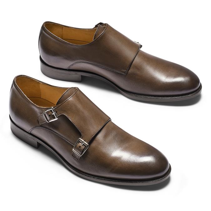 Men's shoes bata-the-shoemaker, Brun, 814-4130 - 19