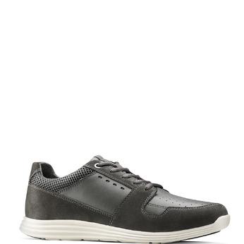 Men's shoes bata-light, Gris, 844-2161 - 13
