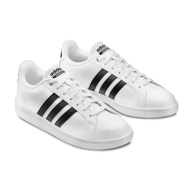 Men's shoes adidas, Blanc, 801-1378 - 16