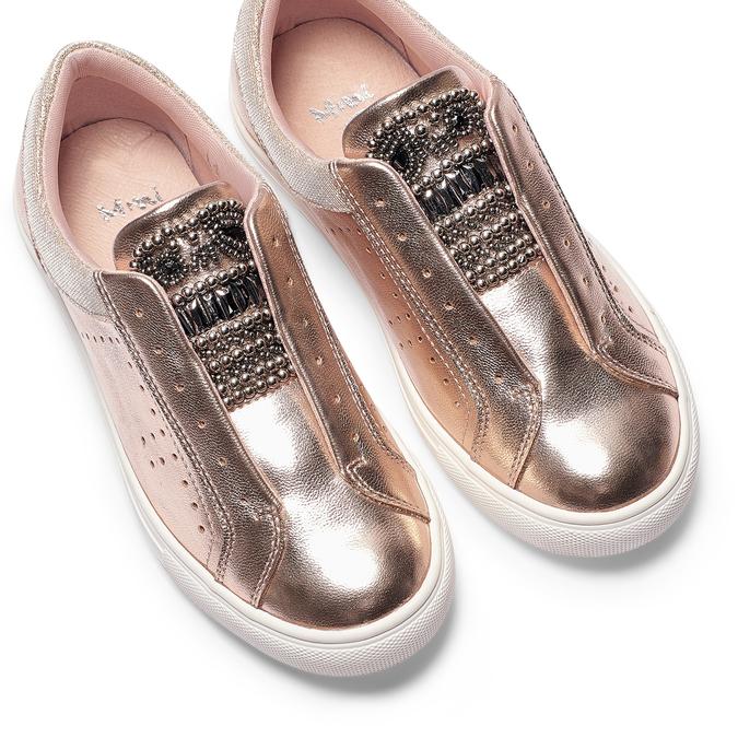 Childrens shoes mini-b, Rouge, 321-5357 - 26