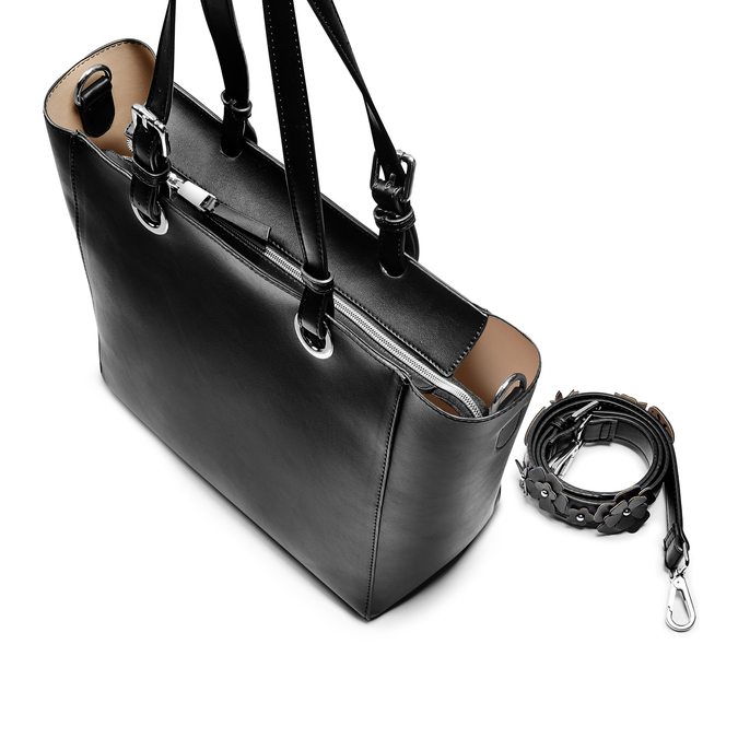 Bag bata, Noir, 961-6232 - 17