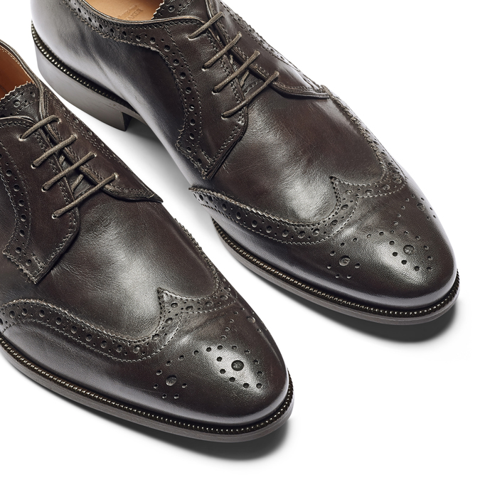 Men's shoes bata-the-shoemaker, Brun, 824-4335 - 19