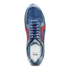 Men's shoes bata, Bleu, 844-9142 - 17