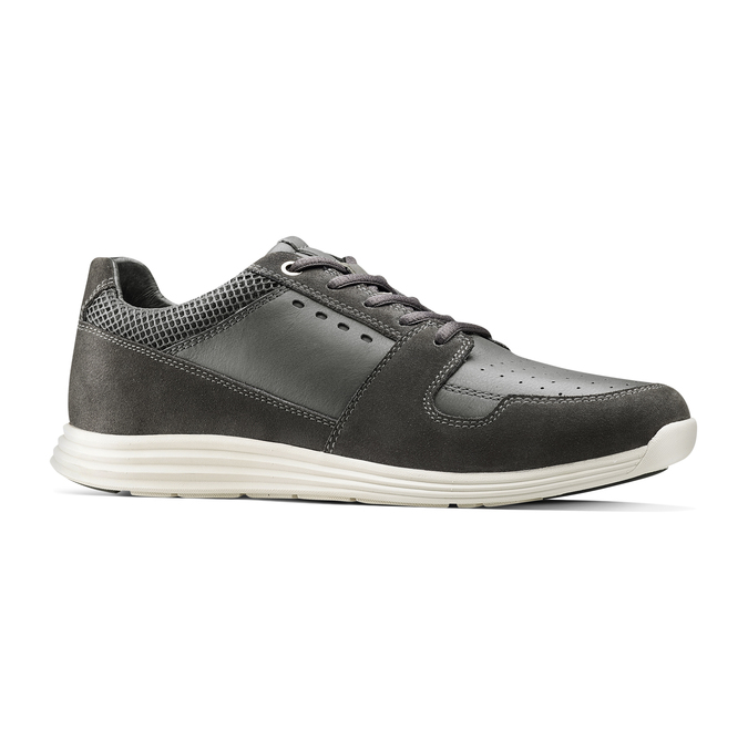 Men's shoes bata-light, Gris, 844-2161 - 13