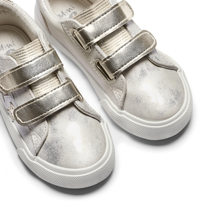 Childrens shoes mini-b, Blanc, 221-1218 - 19