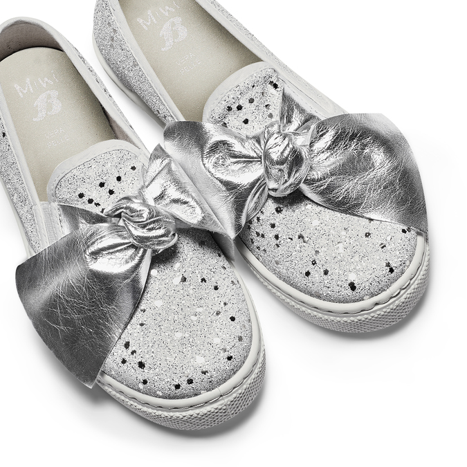 Childrens shoes mini-b, Blanc, 329-1337 - 26