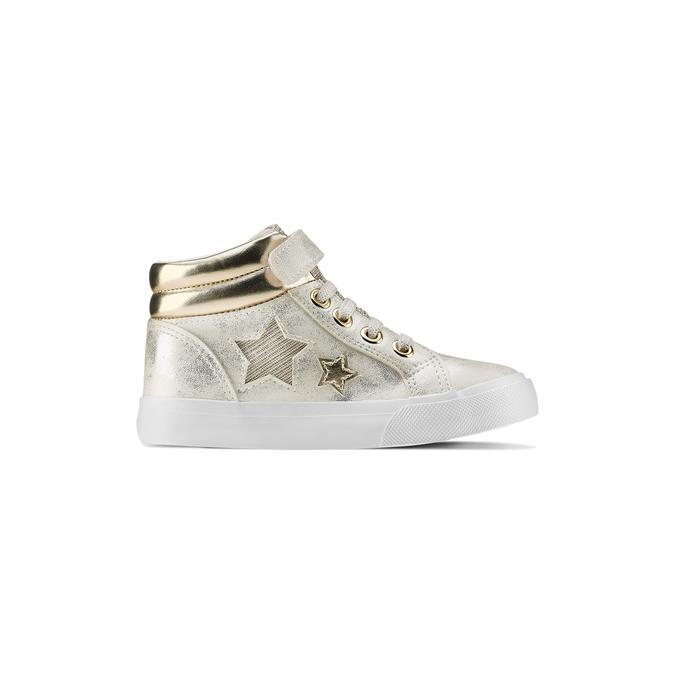 Childrens shoes mini-b, Blanc, 221-1217 - 26