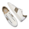 Men's shoes, Blanc, 844-1157 - 19