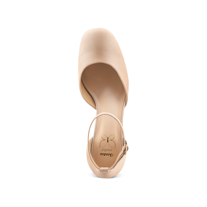 Women's shoes insolia, Rouge, 729-5208 - 17