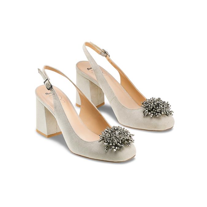 Women's shoes insolia, Gris, 729-2216 - 16