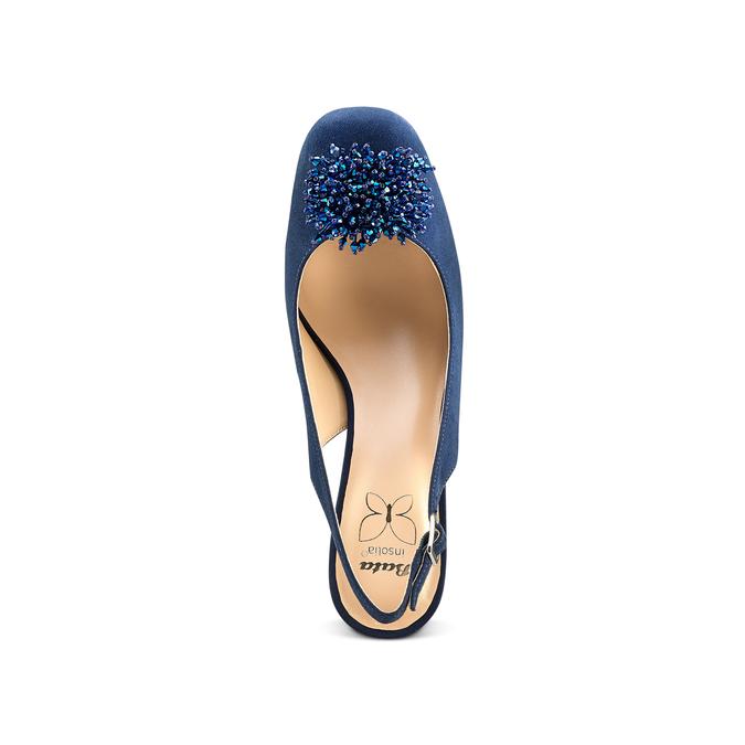 Women's shoes insolia, Bleu, 729-9216 - 17