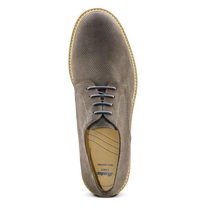 Men's shoes bata-light, Gris, 823-2284 - 17