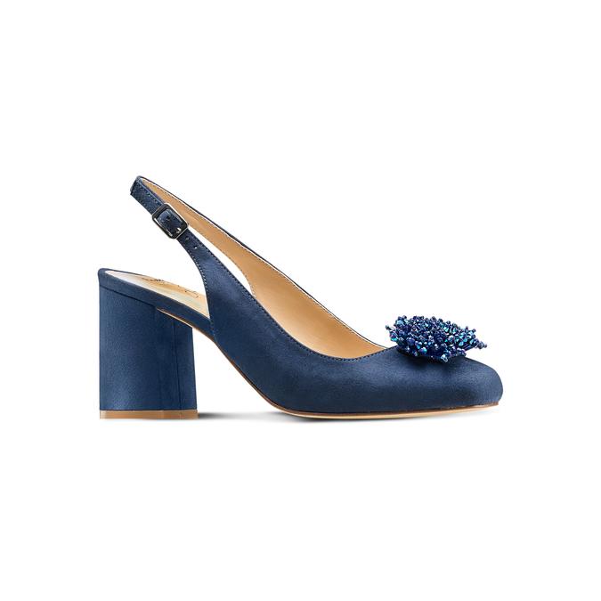 Women's shoes insolia, Bleu, 729-9216 - 13