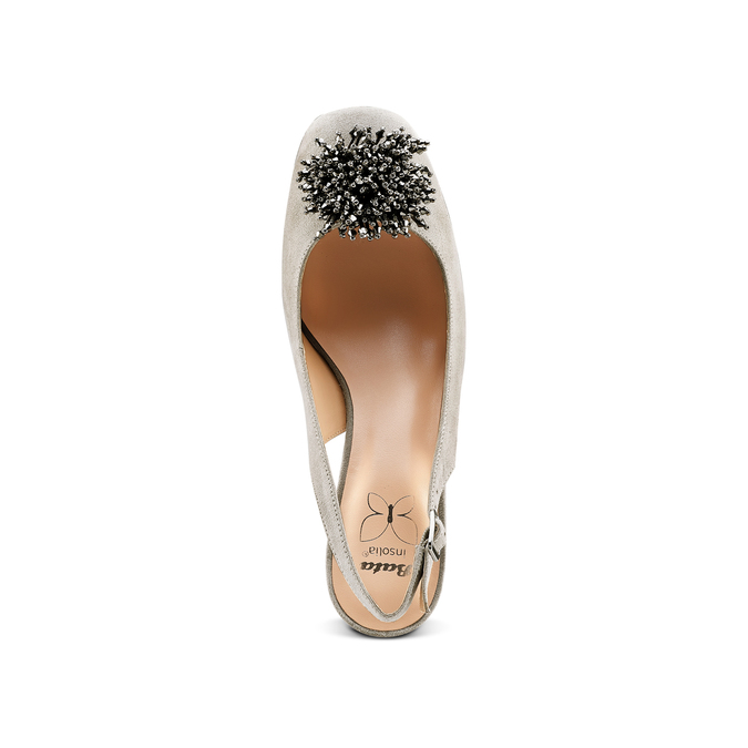 Women's shoes insolia, Gris, 729-2216 - 17