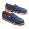 Men's shoes bata-light, Bleu, 813-9163 - 26
