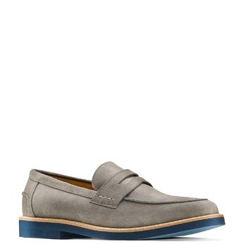 Men's shoes bata-light, Gris, 813-2163 - 13