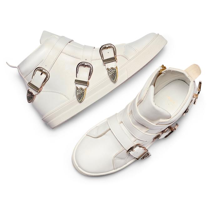 Women's shoes bata, Blanc, 541-1193 - 26