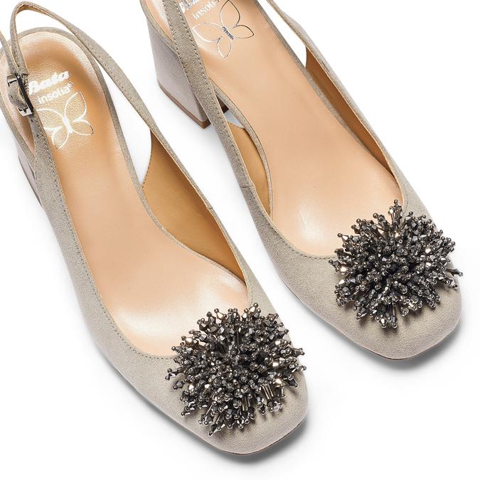 Women's shoes insolia, Gris, 729-2216 - 26