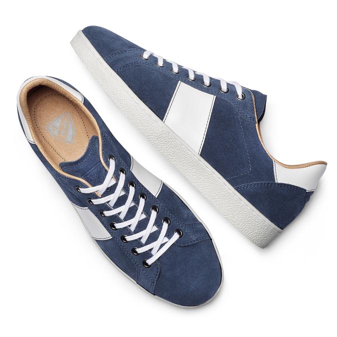 Men's shoes, Bleu, 843-9157 - 19