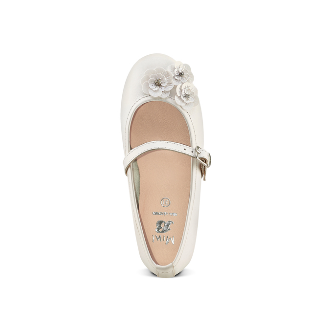 Childrens shoes mini-b, Blanc, 324-1253 - 17