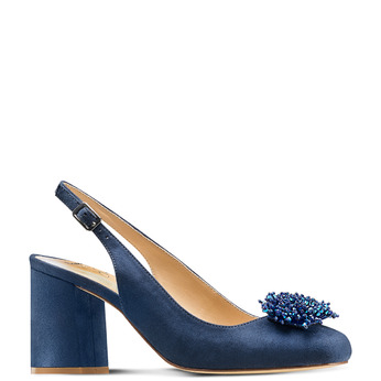Women's shoes insolia, Bleu, 729-9216 - 13
