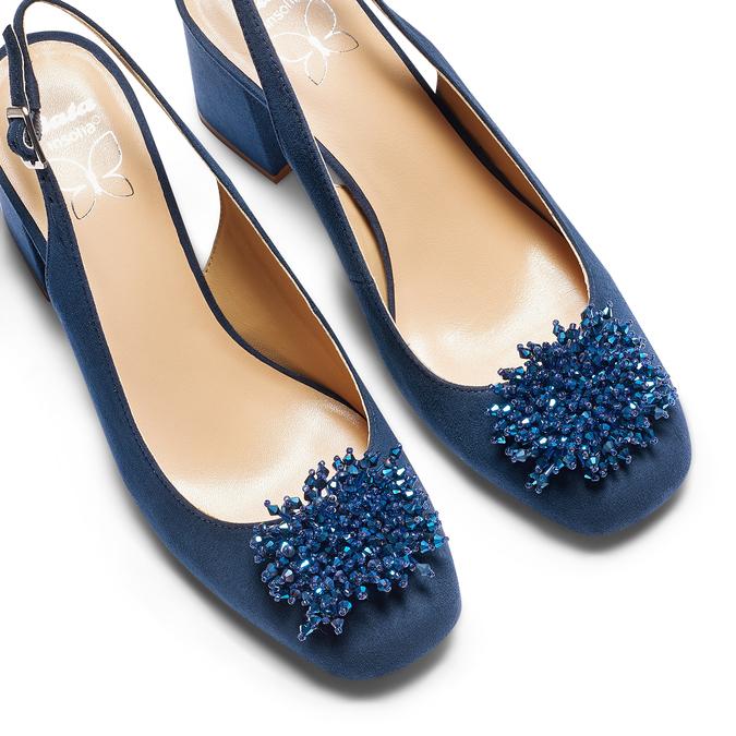 Women's shoes insolia, Bleu, 729-9216 - 26