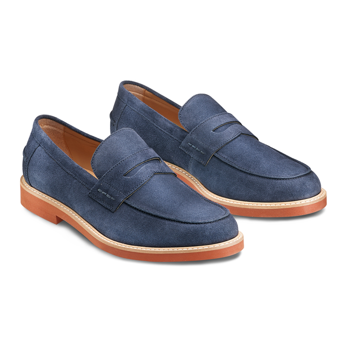 Men's shoes bata-light, Bleu, 813-9163 - 16