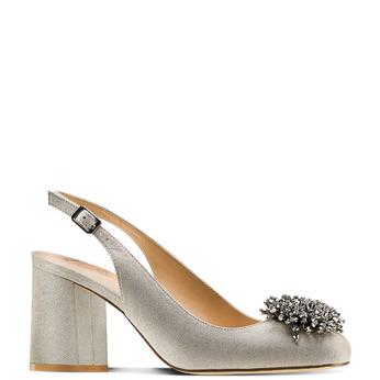Women's shoes insolia, Gris, 729-2216 - 13