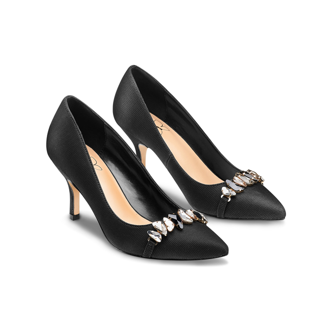Women's shoes insolia, Noir, 729-6219 - 16