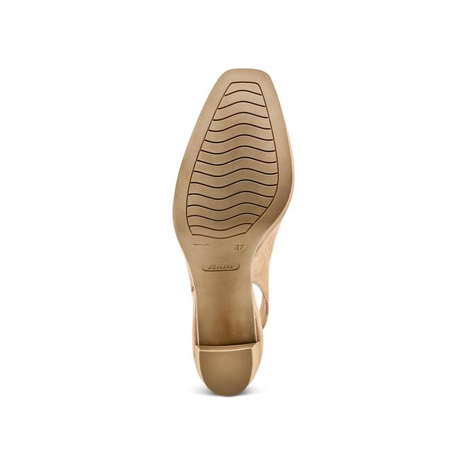 Women's shoes bata, Jaune, 723-8188 - 19