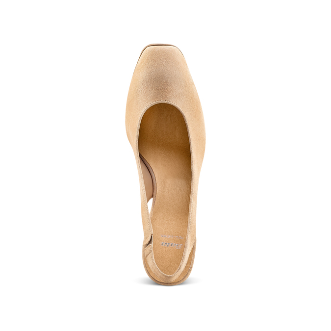 Women's shoes bata, Jaune, 723-8188 - 17