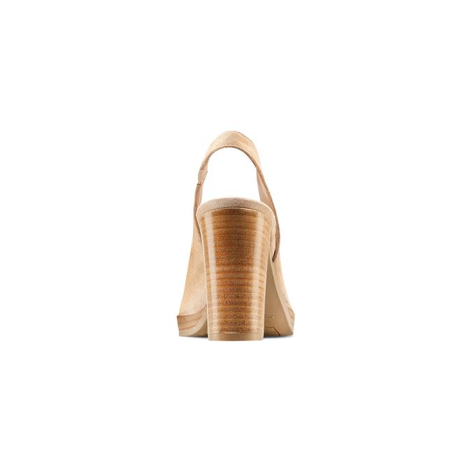 Women's shoes bata, Jaune, 723-8188 - 15