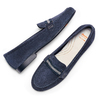 Women's shoes flexible, Bleu, 513-9150 - 26